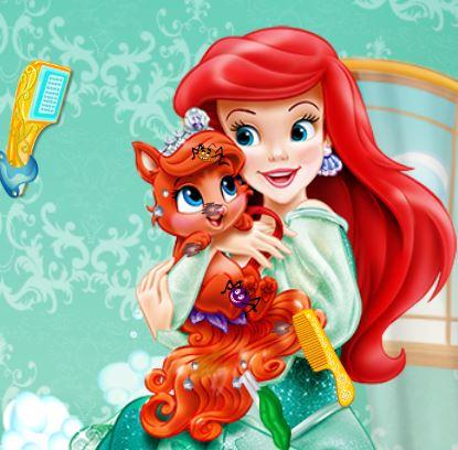 Jeu princesse tiana et tiara - Jeux de ariel et son prince ...