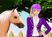 Jeux de barbie gratuit - Barbie et son cheval ...