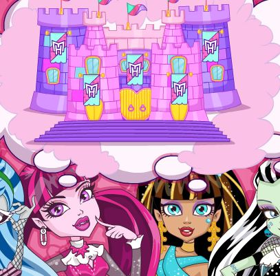Jeu Chateau de reve des Monster High