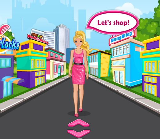 barbie sois ma valentine jeu barbie folie de magasinage