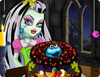 Jeu Gateau au fruits Monster High