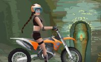 Jeu Course moto tomb raider