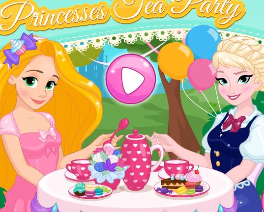 Jeu Princesse disney fete the