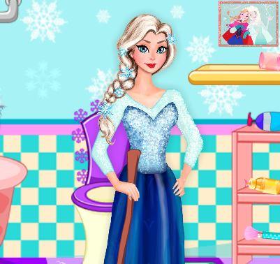 Jeux gratuit de la reine des neiges enceinte