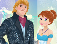 Jeu Le marriage de Anna princesse des neiges