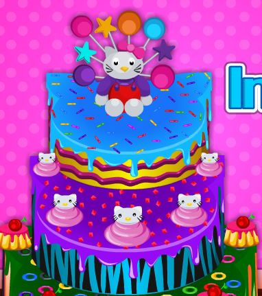 Jeu Gateau de Hello Kitty