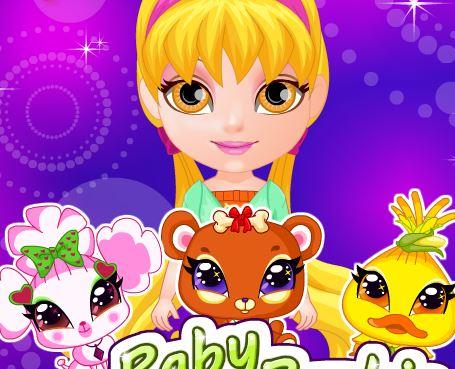 bb barbie poney jeu soins pour les chiots des bebes barbies