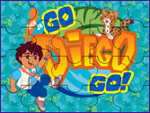 Jeu Puzzle Diego jungle