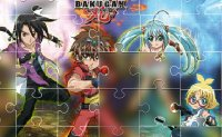 Jeu Collection puzzle bakugan