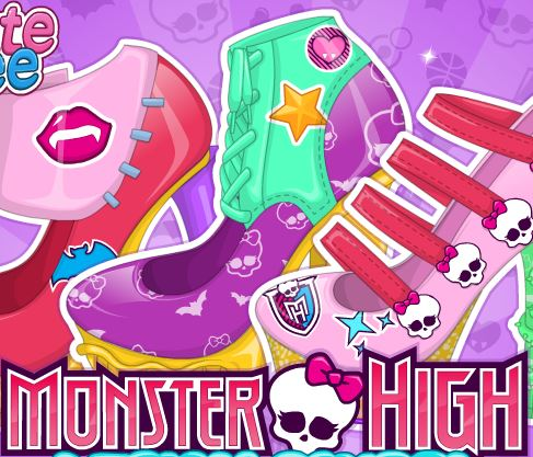Jeu Chaussures version Monster High