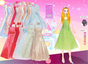 Jeu Habiller Barbie en robe