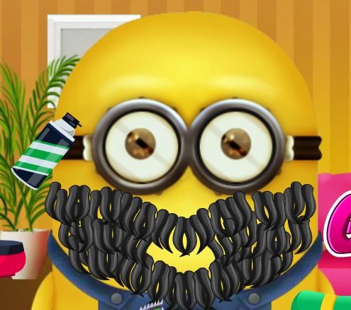 Jeu Minion au salon