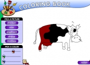 Jeu Animal coloring book