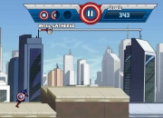 Jeu Avengers Capitaine America Run