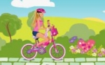 Jeu Barbie bike game