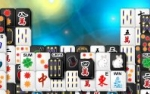 Jeu Black white Mahjong