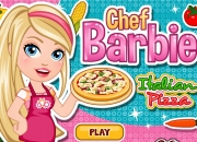 Jeu Chef Barbie Pizza