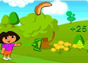 Jeu Dora attrape les fruits