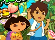 Jeu Dora capture les fruits