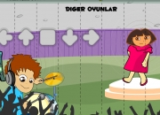 Jeu Dora danse party