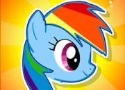 Jeu Flappy Rainbow Pony