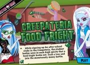 Jeu Food fight Monster High