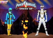 Jeu Habillage Power Rangers