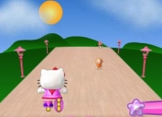 Jeu Hello Kitty roller rescue 2