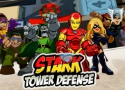 Jeu Iron Man 2 Tower Defense