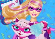 Jeu Le Chat de Super Barbie