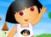 Jeu New Dora Dress up