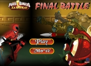 Jeu Power Ranger combat final