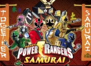 Jeu Power Rangers en mode Samurai