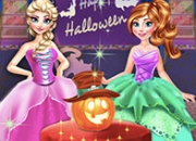 Jeu Reine des neiges Halloween Party