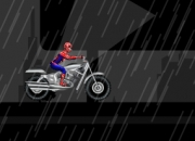 Jeu Spiderman Course moto