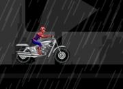 jeu spiderman course moto