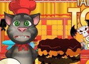 Jeu Talking Tom Halloween Cake
