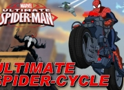 Jeu Ultimate Spiderman Spider Cycle