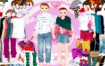 Jeu Valentine's couple dress up